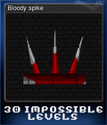 Bloody spike