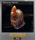 Hierarchy helmet