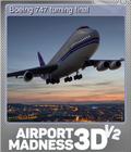 Boeing 747 turning final