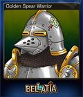 Golden Spear Warrior