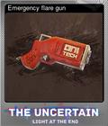 Emergency flare gun