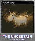 A plush pony