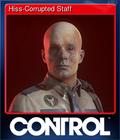 Hiss-Corrupted Staff