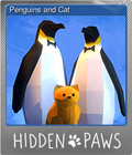 Penguins and Cat