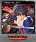 Trading Card_SAKI