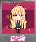 Character Card Julie