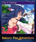 Fox in Training