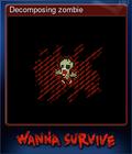 Decomposing zombie