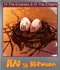 III The Empress & IV The Emperor