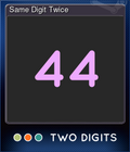 Same Digit Twice