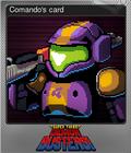Comando's card