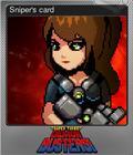 Sniper's card