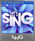 Let's Sing wallpaper 02