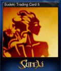 Sudeki Trading Card 5