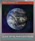 Alpha Centauri D