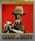 Sergeant Goat