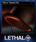 Razor Tipped Hat