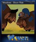 Meadows - Bison Ride