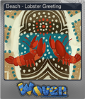 Beach - Lobster Greeting