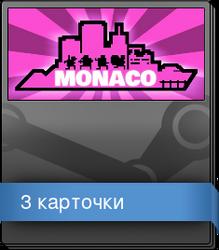Набор карточек из Monaco