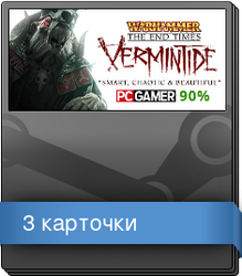 Набор карточек из Warhammer: End Times - Vermintide