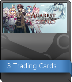 Agarest Zero Booster Pack