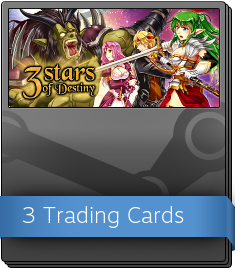 3 Stars of Destiny Booster Pack