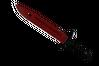 ★ Bayonet | Crimson Web (Minimal Wear)