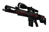 StatTrak™ SCAR-20 | Crimson Web (Field-Tested)