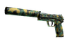 USP-S | Overgrowth (Well-Worn)