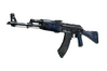 StatTrak™ AK-47 | Blue Laminate (Well-Worn)