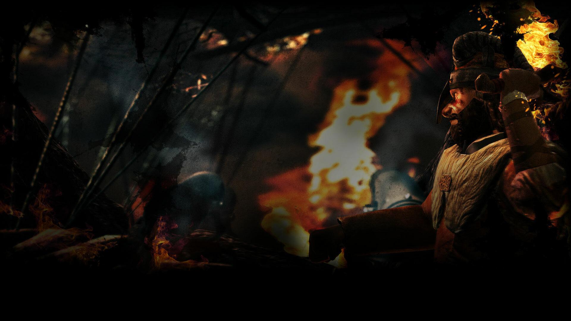 Viking in the Heat of Battle