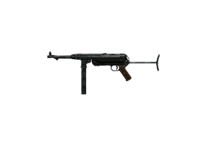 Mp40 Submachine Gun Tarnschmeisser Battle Worn