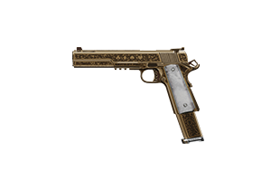 Crosskill Pistol Big Time Operator Lightly Marked Stat Boost