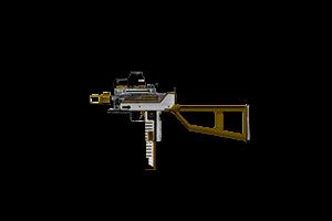 Mark 10 Submachine Gun Headhunter Lightly Marked
