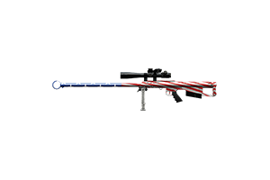Thanatos 50 Cal Sniper Rifle Piercing Patriot Lightly Marked