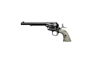 Peacemaker 45 Revolver Justice Pearl Well Used