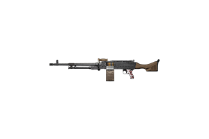 Ksp 58 Light Machine Gun Moctezuma Mint Condition