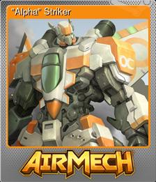 """""""Alpha"""" Striker (Foil)"""