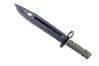 ★ StatTrak™ Bayonet | Blue Steel (Well-Worn)