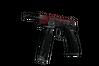 StatTrak™ CZ75-Auto | Crimson Web (Battle-Scarred)