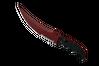 ★ StatTrak™ Flip Knife | Crimson Web (Field-Tested)