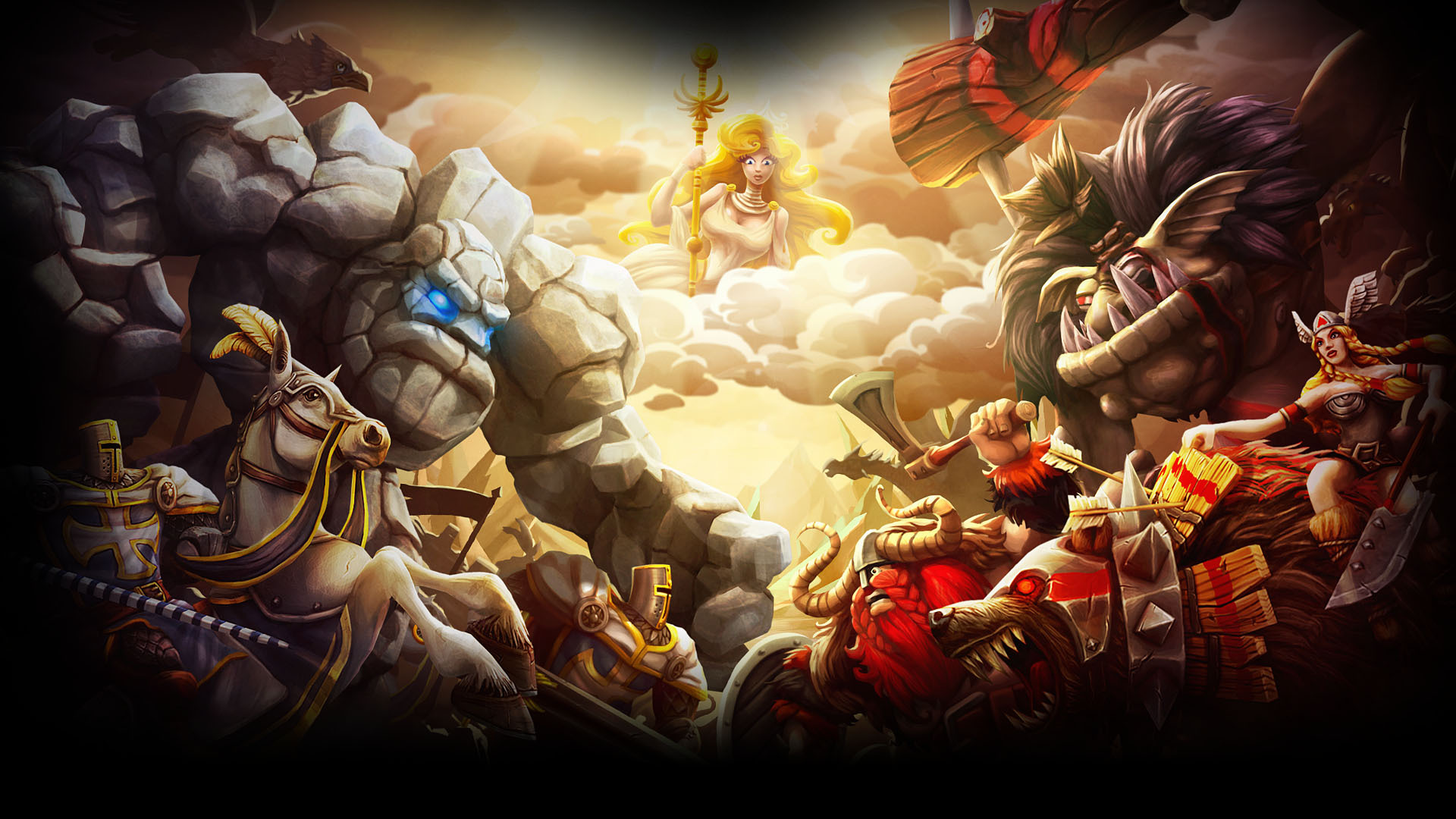 Knights vs. Vikings - Steam Companion