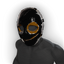Black Smiley S.W.A.T. Mask