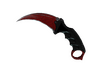 ★ StatTrak™ Karambit | Crimson Web (Well-Worn)