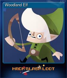 Woodland Elf (Trading Card)