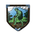 Coat of Arms - Green Farmer