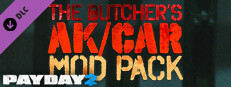 PAYDAY 2: The Butcher's AK/CAR Mod Pack