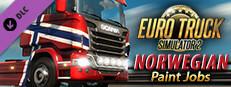 Euro Truck Simulator 2 - Norwegian Paint Jobs Pack