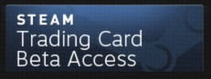 Steam Trading Card Beta